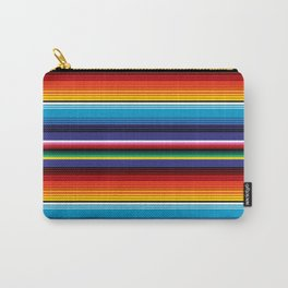 The Mexican Stripes Carry-All Pouch