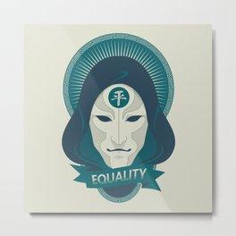 EQUALITY Metal Print