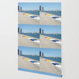 Chicago, Chicago shoreline, Skyline, Lake Michigan Wallpaper