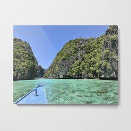 Philippines boat tour Metal Print