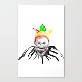 Twisty The Killer Clown Canvas Print
