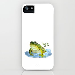 Frog it iPhone Case