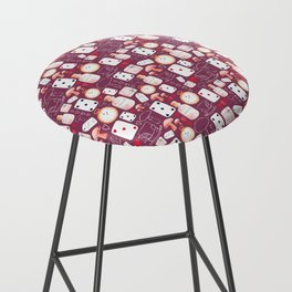 Alice in Wonderland - Purple Madness Bar Stool