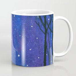 Still of the Night, Landscape Stars Sky Coffee Mug