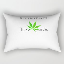Scre Big Phama - Take Herbs Rectangular Pillow
