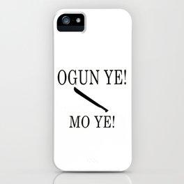 Ogun iPhone Case