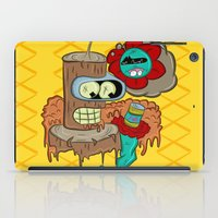 bender iPad Cases featuring Wooden Bender by TheArtistKAFA