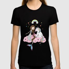 Mermaid & Unicorn T-shirt