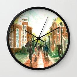 Old main plaza Wall Clock