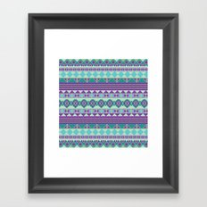 Aztec Framed Art Print