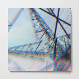 Blurred Lines Metal Print