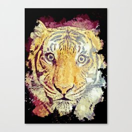 Tiger painting art poster Canvas Print