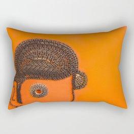 002: Clockwork Orange - 100 Hoopties Rectangular Pillow