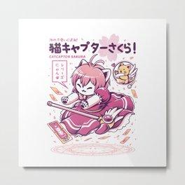 Catcaptor Metal Print
