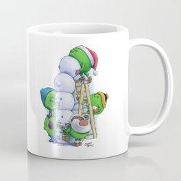 Snow Peas Coffee Mug