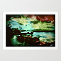 boats Art Prints featuring Boats  by Brittany Smith
