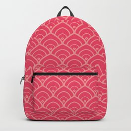Pink Vintage Backpack