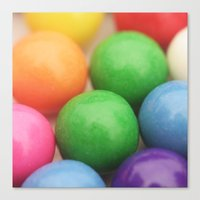 gumball Canvas Prints featuring Gumball Pit by Beth - Paper Angels Photography