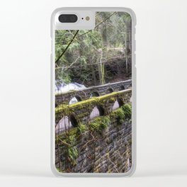 Bridge Over Troubled Waters Clear iPhone Case