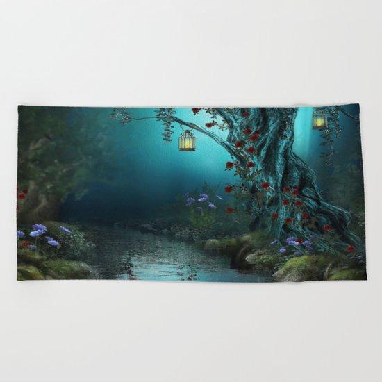 fantasy world Beach Towel