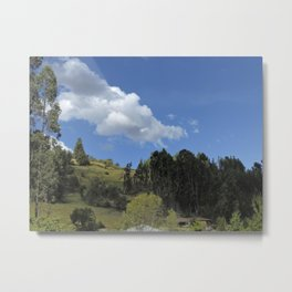 Highlands Peru Metal Print