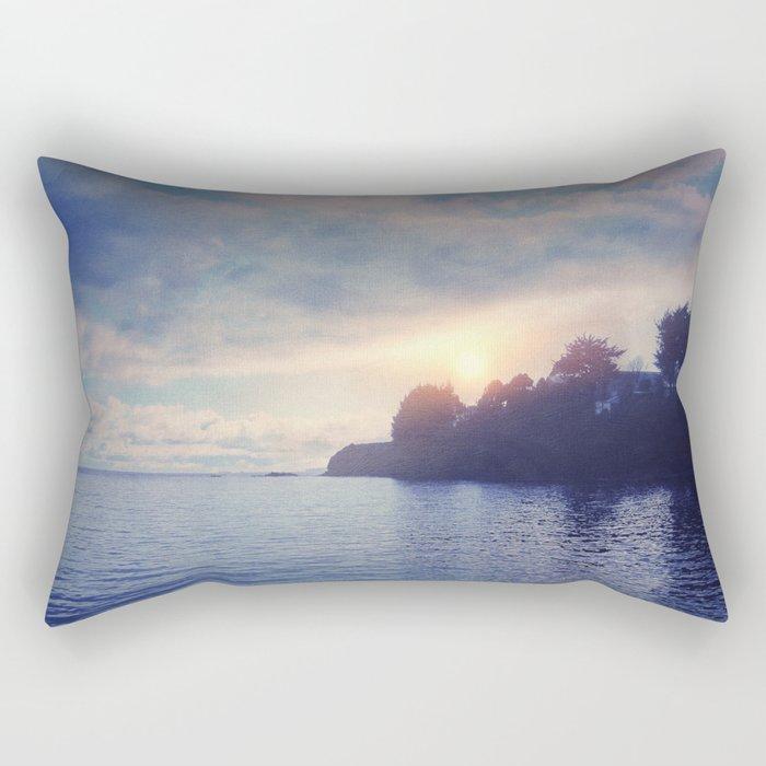 Sunset I C. II Rectangular Pillow