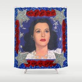 Ziegfeld Girl - Hedy Lamarr - Screen Siren  Shower Curtain