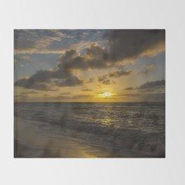Golden Sunrise by Teresa Thompson Throw Blanket