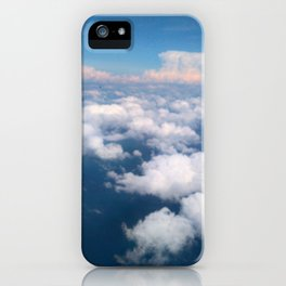 Blue Sky iPhone Case