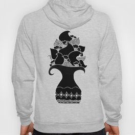 Amphora - Black White Hoody
