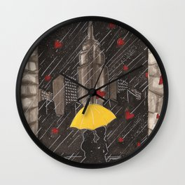 Right Time, Right Place Wall Clock
