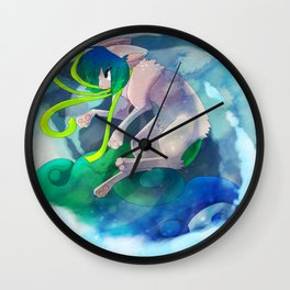 Up in the Air Wall Clock