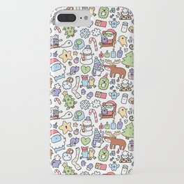 Christmas Doodle iPhone Case