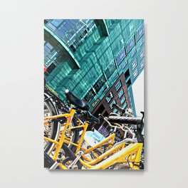 Berlin - Taxi Metal Print