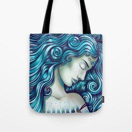 Calypso Sleeps Tote Bag