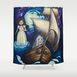 To Sail You Home Shower Curtain