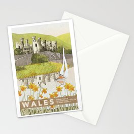 Wales Conwy Castle Stationery Cards
