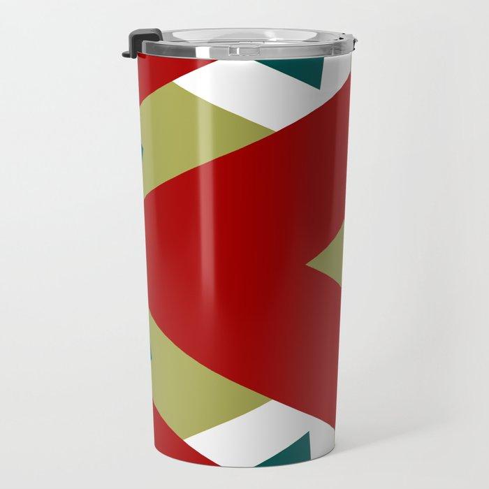 CVPA20098 Benny Frank Red Green Blue White Travel Mug