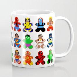 Superhero Gingerbread Man Coffee Mug