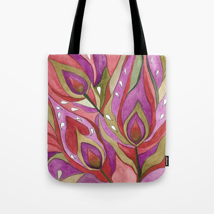 A Feather Of The Zhar Bird . Tote Bag