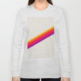 VHS Rainbow 80s Video Tape Long Sleeve T-shirt