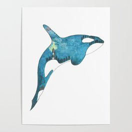 Magical Orca Poster