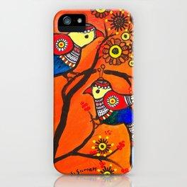 Bird Pair iPhone Case