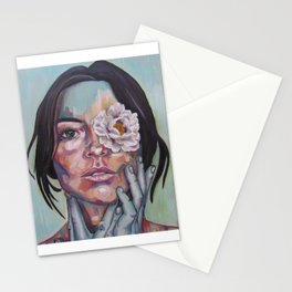Blinded by beauty Stationery Cards