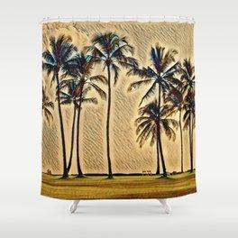 Hawaiian Vacation Shower Curtain