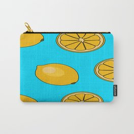 Lemon fruit pattern Carry-All Pouch