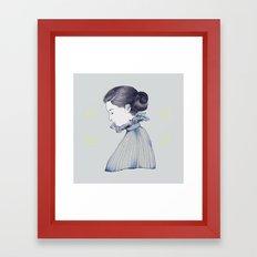 dance me through the dark Framed Art Print