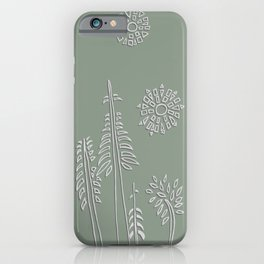 Forest Bathing - Sage  iPhone Case
