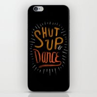 dance iPhone & iPod Skins featuring Dance by skitchism