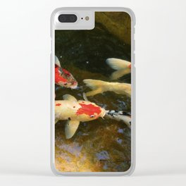 Go With The Flow Clear iPhone Case